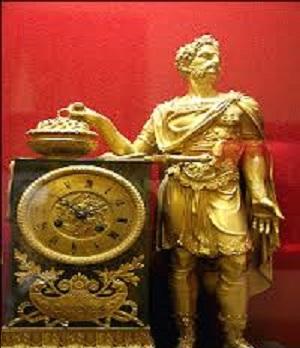 ساعت تاریخی امپراتور روم باستان در موزه سنجش تبریز