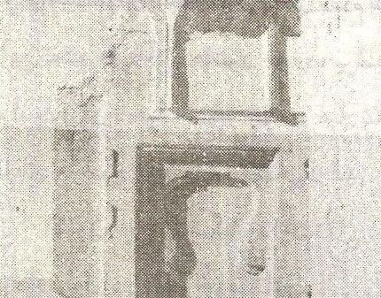 نمونه ای از طاقنماهایی که در دیوارهای فوقانی ارک یا مسجد علیشاه تعبیه شده است./ عکس : ترابی/ کتاب : آثار باستانی آذربایجان
