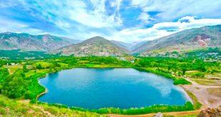 دریاچه اوان در بهار