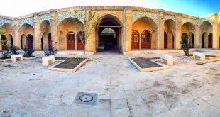 سرای ملک، واقع در بازار بزرگ زنجان