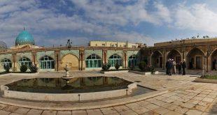 مسجد و مدرسه چهل ستون زنجان