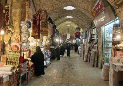 بزرگترین بازار سرپوشیده ایران(بازار بزرگ و تاریخی زنجان)