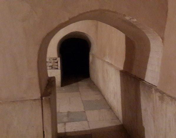 دالان های توردتو سردابه گنبد سلطانیه