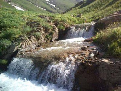 رودخانه اطراف روستای قوزلو
