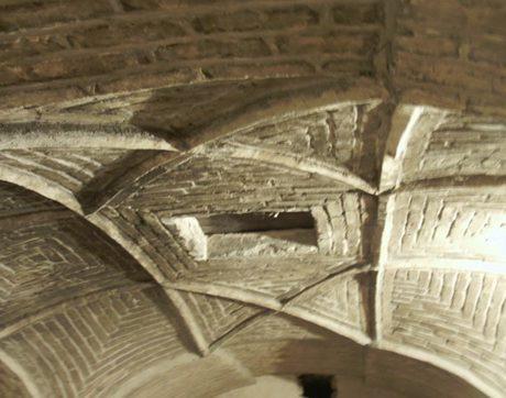سقف سردابه گنبد سلطانیه