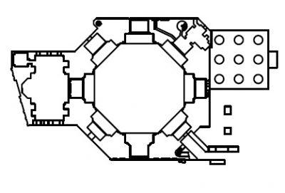 پلان ساختمان گنبد سلطانیه