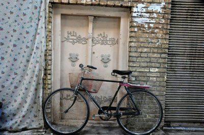 ورودی در خانم ها - مسجد خانم زنجان