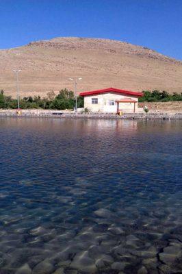 محوطه چشمه شاه بلاغی