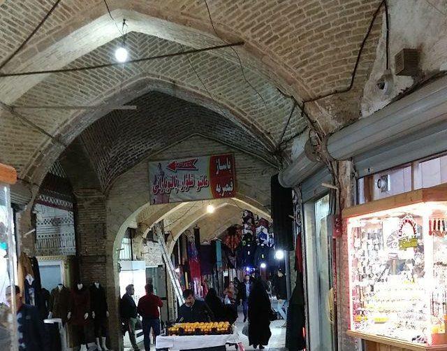 بازار قیصریه زنجان