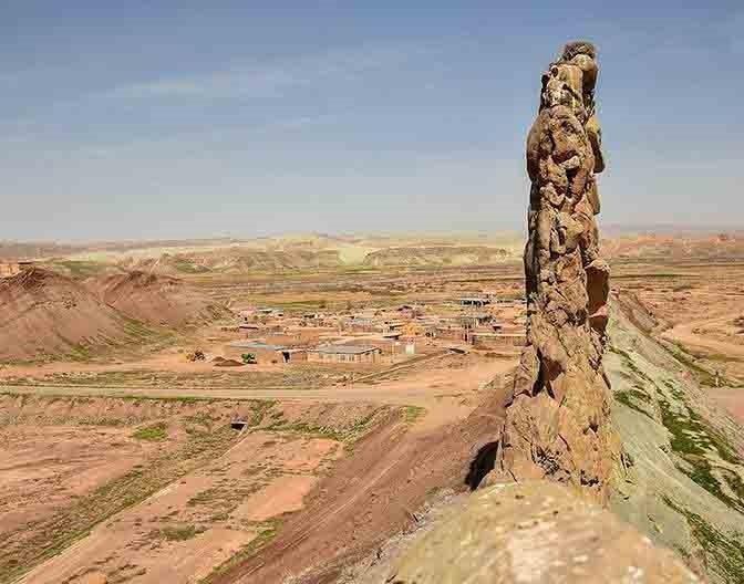 قلعه لک لک ها در استان زنجان شهرستان ماهنشان