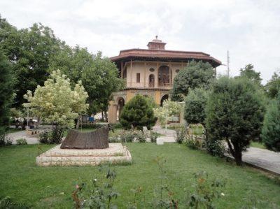 عمارت چهل ستون-باغ صفوی قزوین (باغ سعادت آباد)
