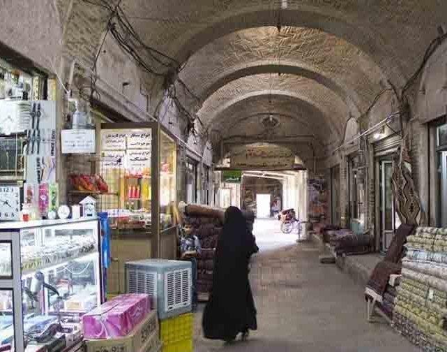 سرای بهجت - بازار زنجان
