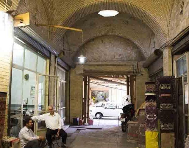 سرای کلبعلی در بازار زنجان