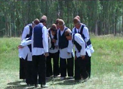 بازی محلی کلاه بردار در استان زنجان