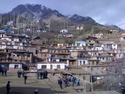 روستای آتان در استان قزوین
