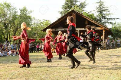 جشن در کشور گرجستان