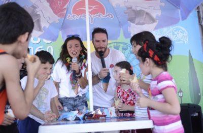 فستیوال بستنی در کشور گرجستان