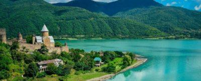 تصویری از طبیعت زیبای کشور گرجستان