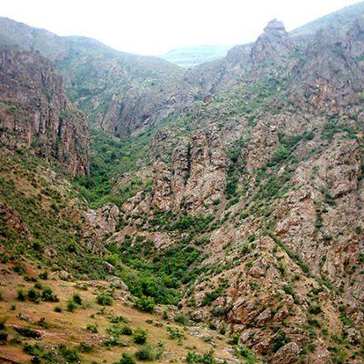 روستای یله گنبد در استان قزوین