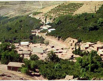 روستای آکوجان در استان قزوین