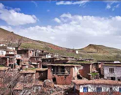 روستای اکوجان در استان قزوین