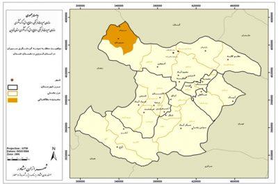 قلعه سمیران (قلعه شمیران) در نقشه قزوین
