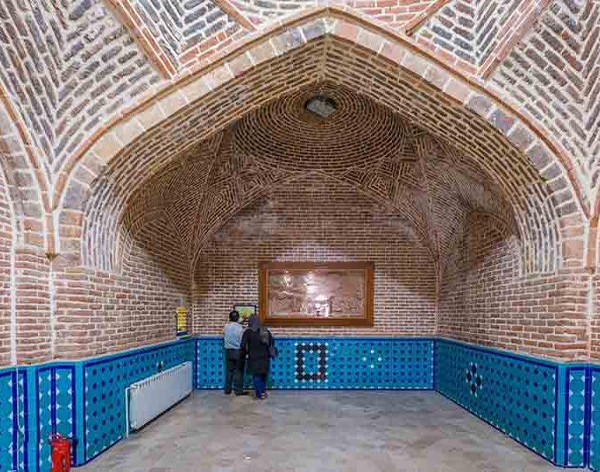 بنای این حمام از اماکن تاریخی شهر قزوین می باشد