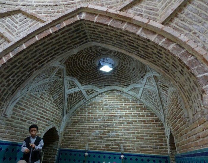 این حمام از بناهای قدیمی قدیمی شهر قزوین