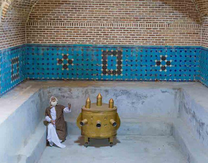 حمام بنای تاریخی حمام. قجرقزوین