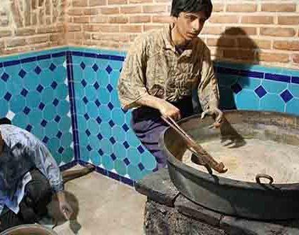 حمام . قجر قزوین از اماکن تاریخی شهر قزوین