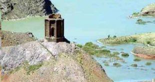 قلعه ساسان (آرامگاه بزرگ) در استان قزوین