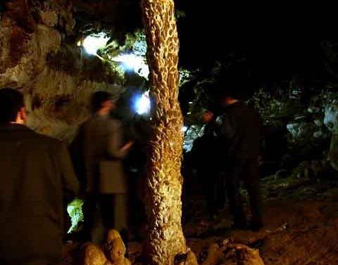 نخل سوخته در غار کتله خور