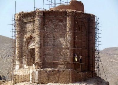 برج مقبره بزرگ منطقه تاریخی سمیران موسوم به برج ساسان قزوین