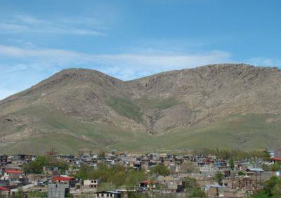 قلعه سنگرود در روستای زرگرد استان قزوین