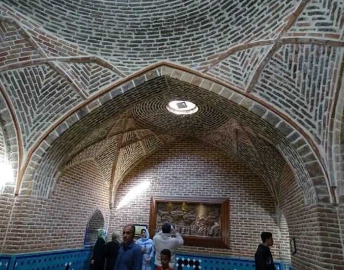 حمام قجر شهر از اماکن گردشگری ایران