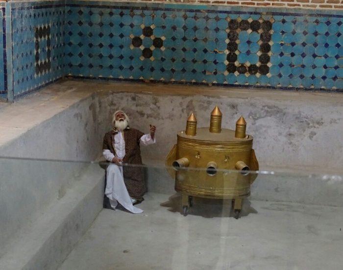 حمام قجر از بناهای تاریخی ایران
