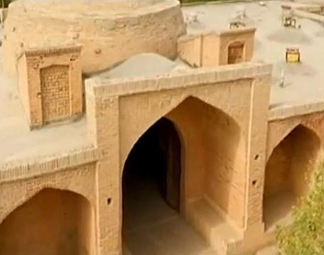 کاروانسرای محمدآباد خره (خورهه) قزوین از بناهای تاریخی ایران