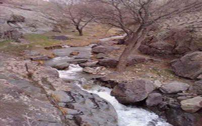 سد قدیمی سیدعلی خان در قزوین