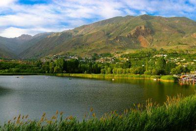 طبیعت گردی در روستای زر آباد قزوین
