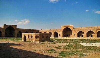 کاروانسرای هجیب از اماکن تاریخی قزوین