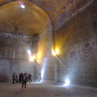 آب انبار مسجد جامع قزوین