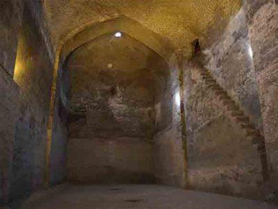 آب انبار مسجد جامع قزوین از جاذبه های ایرانگردی
