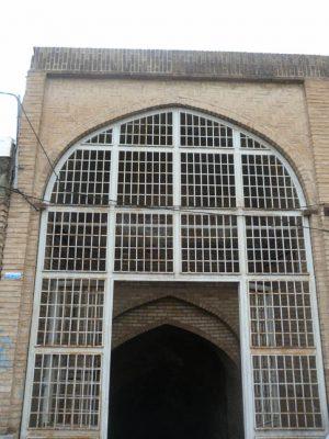 سردر آب انبار مسجد جامع