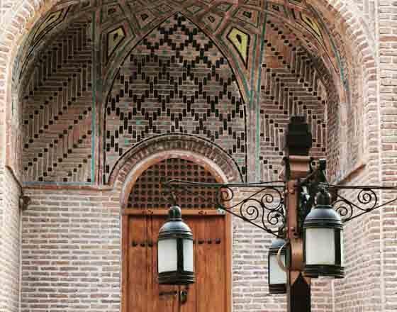 کاروانسرای سعدالسلطنه قزوین از جاذبه های گردشگری ایران