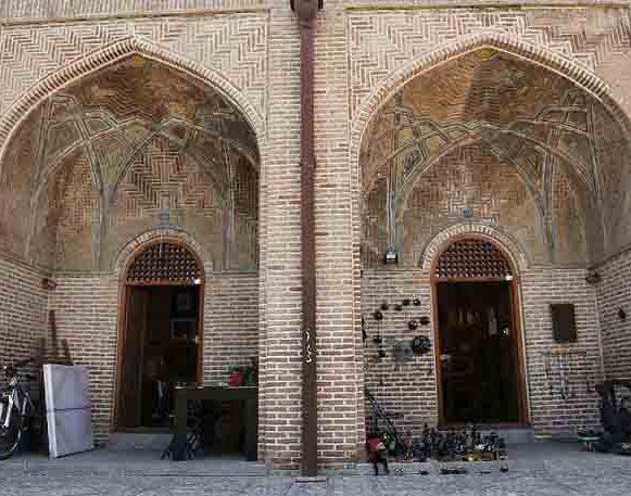 سرای سعدالسلطنه از جاذبه های گردشگری ایران