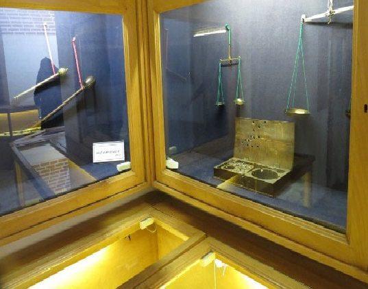 ابزارهای قدیمی سنجش در موزه سنجش تبریز