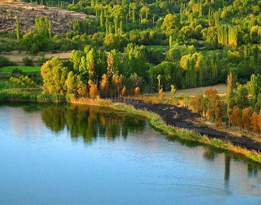 دریاچه اوان قزوین