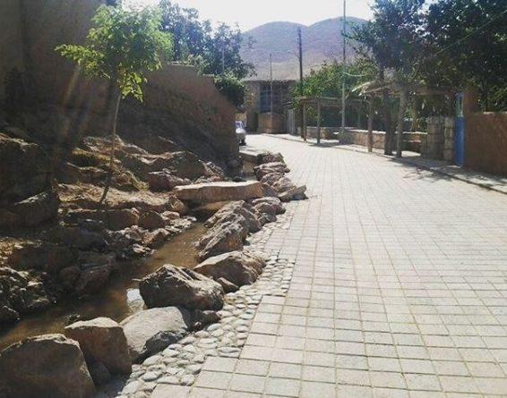 محله های روستای تاریخی درسجین