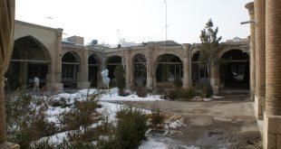 سرای حاج علی قلی واقع در بازار یزرگ زنجان