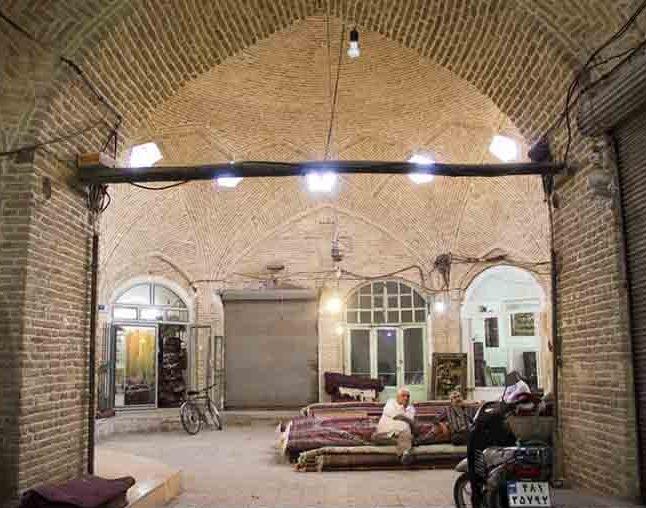 سرای حاج ابراهیم (بورکچولر) بازار زنجان